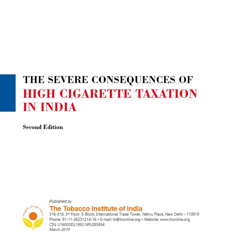 Tobacco India Representative Body of Tobacco Industry   Latest